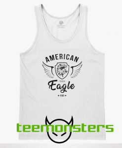American Eagle Graphic Tank Top