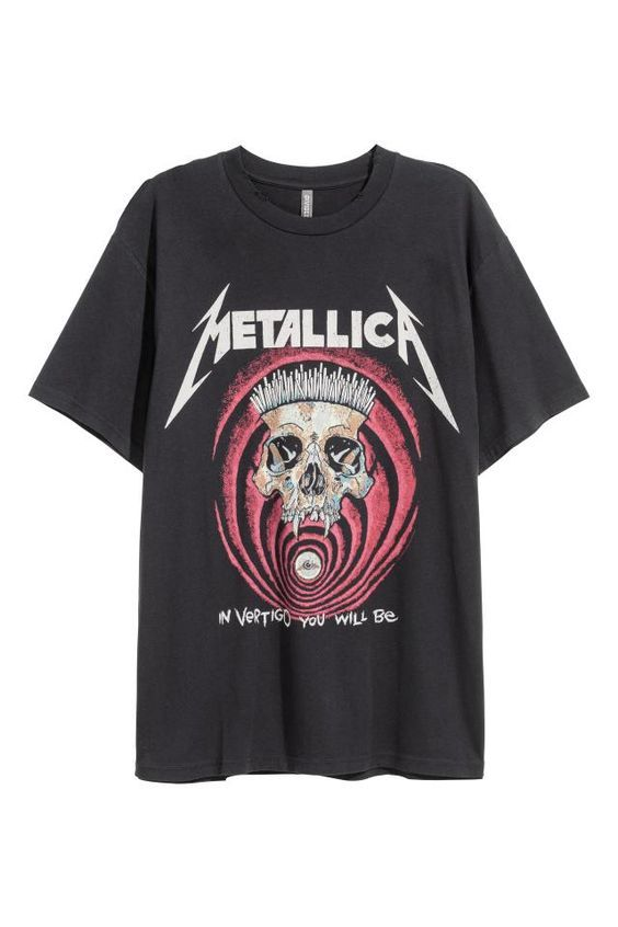 Metallica In Vertigo T-shirt RE23