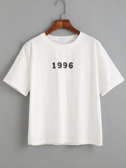 1996 Generation Print T-shirt RE23