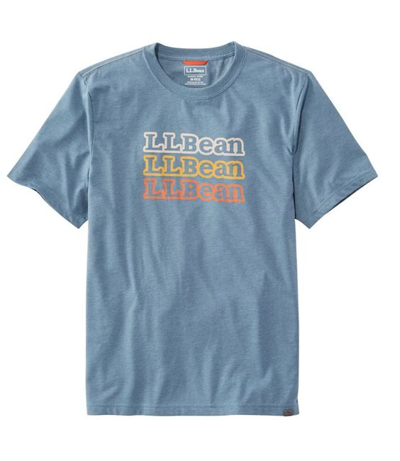 L.L.Bean Performance Graphic T-shirt RE23
