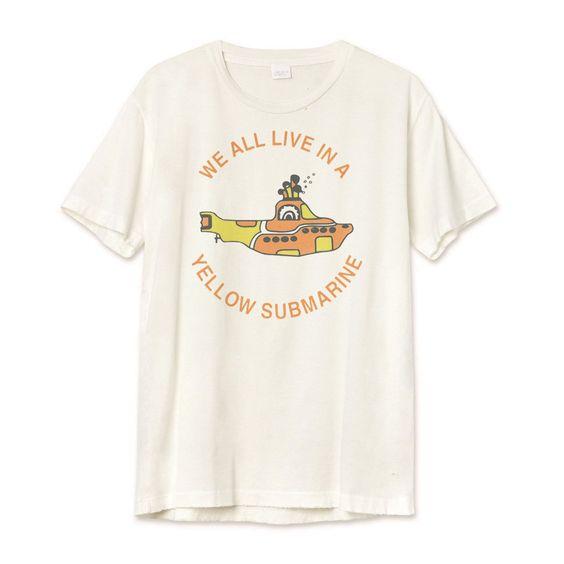 The Beatles - Yellow Submarine T-shirt RE23