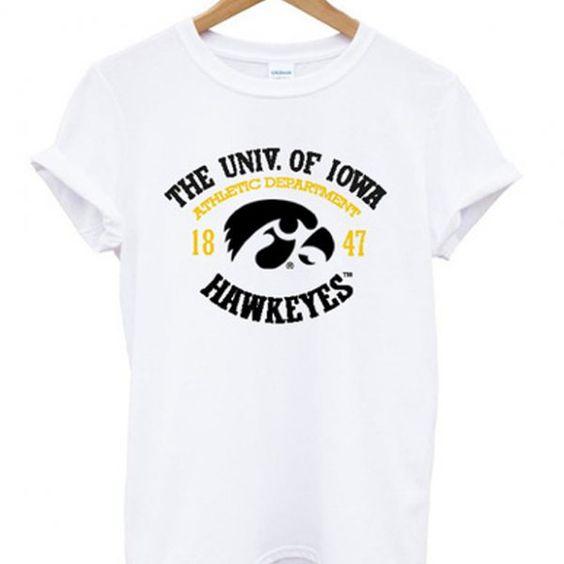 The univ of iowa hawkeyes t-shirt RE23