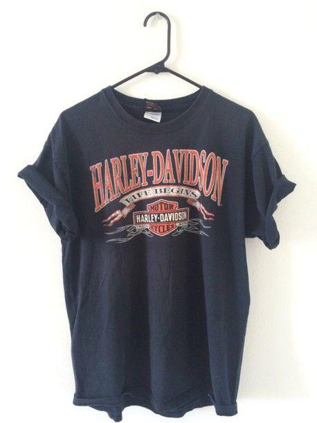 Vintage Harler Davidson T-shirt RE23