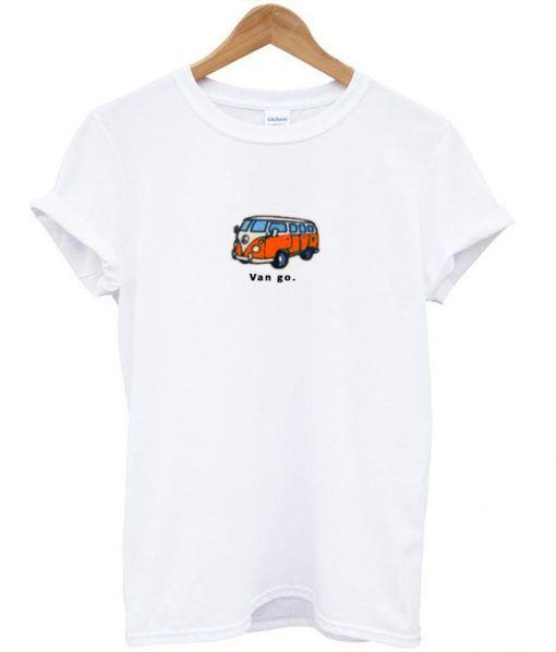 Van Go Bus T-shirt RE23