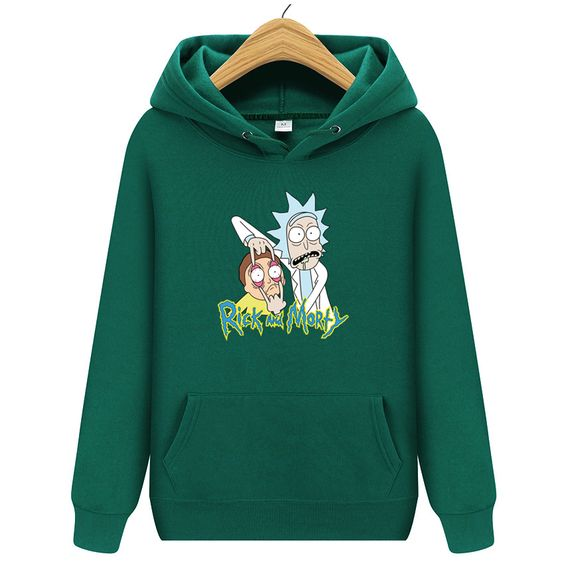 2020 Funny Rick And Morty Hoodie ZX03