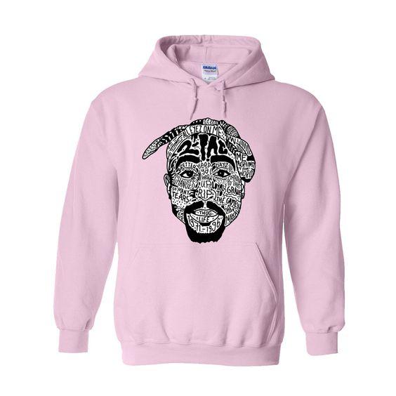 2Pac Thug Life Hoodie RE15