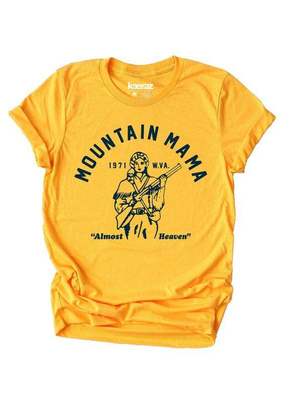 Mountain Mama T-shirt RE23