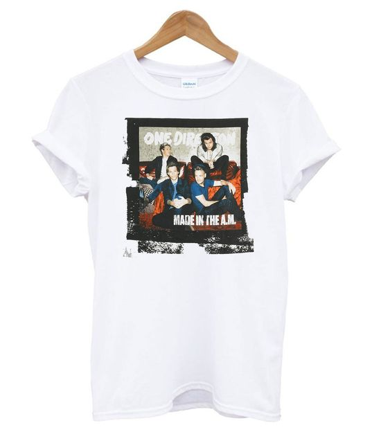 One Direction Men's Made in The AM T shirt RE23