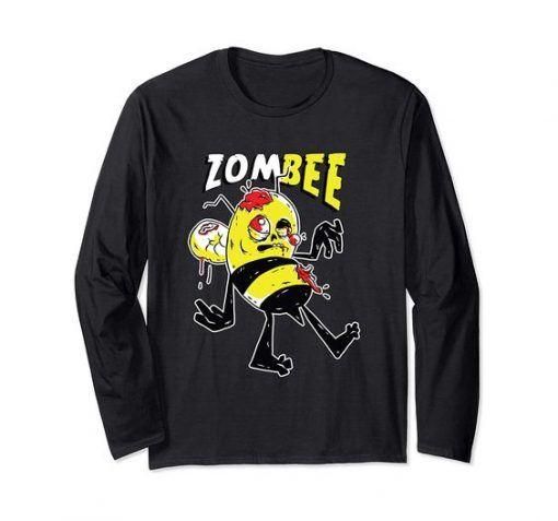 Zombie Bee Pun Sweatshirt RE23