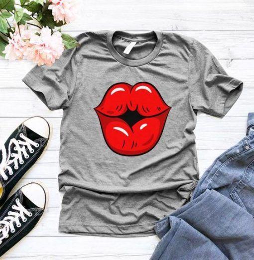 Womens Kiss T-Shirt ADR