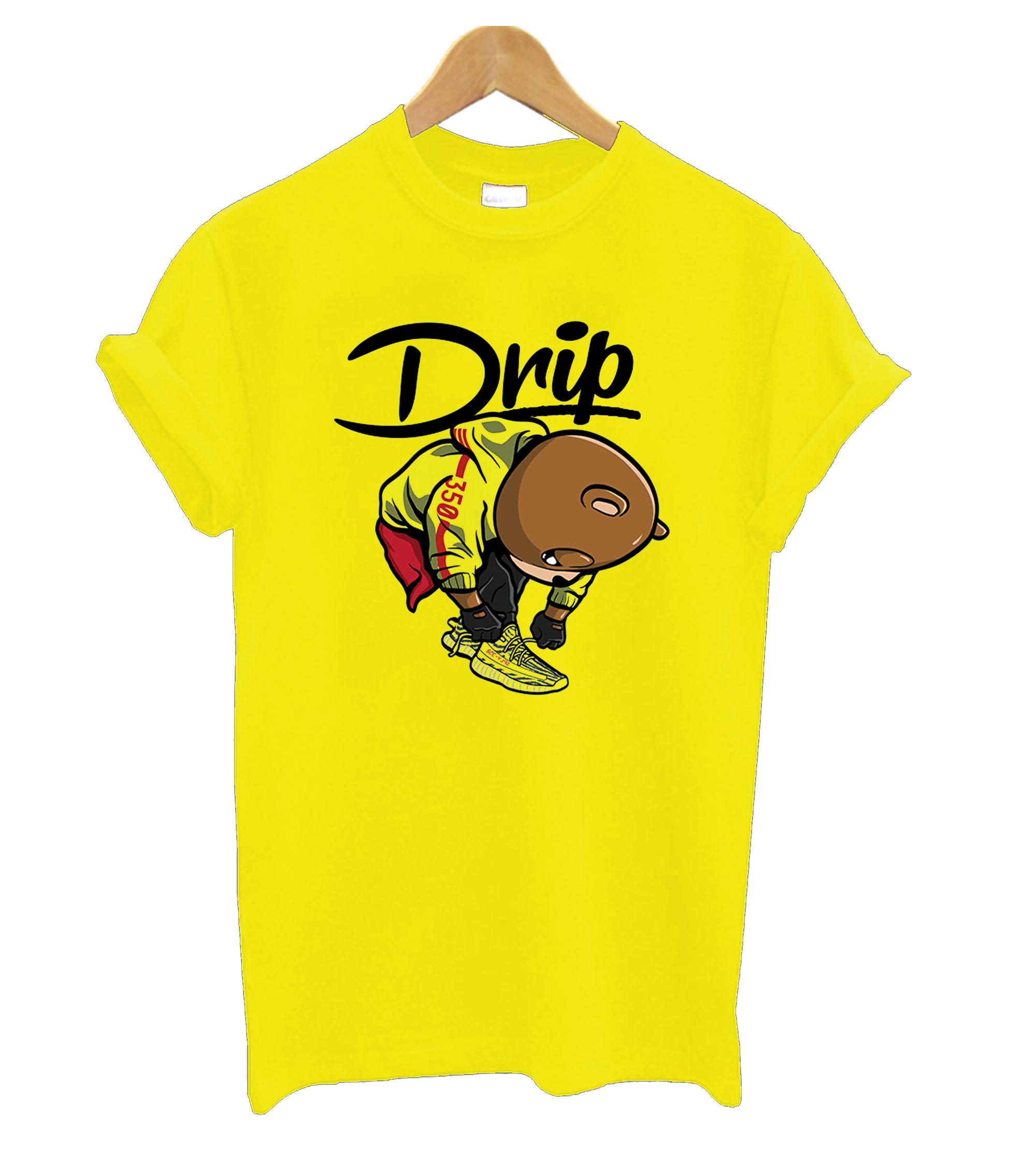 Frozen Yellow Yeezys - New Drip T shirt IGS
